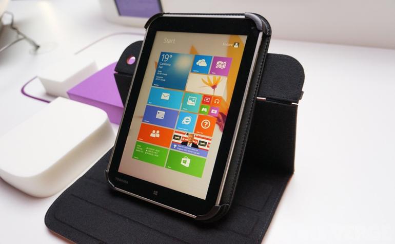 IFA-2013: Toshiba Encore против iPad mini