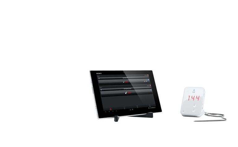 Sony Xperia Tablet Z теперь с приложением Kitchen Edition