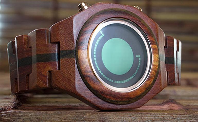 Японские часы от Tokyflash теперь деревянные