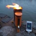 Походная печь — зарядка для iPhone