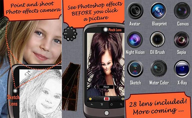 10 лучших приложений для камеры на Android