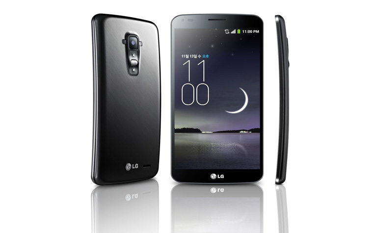 LG G Flex представлен официально