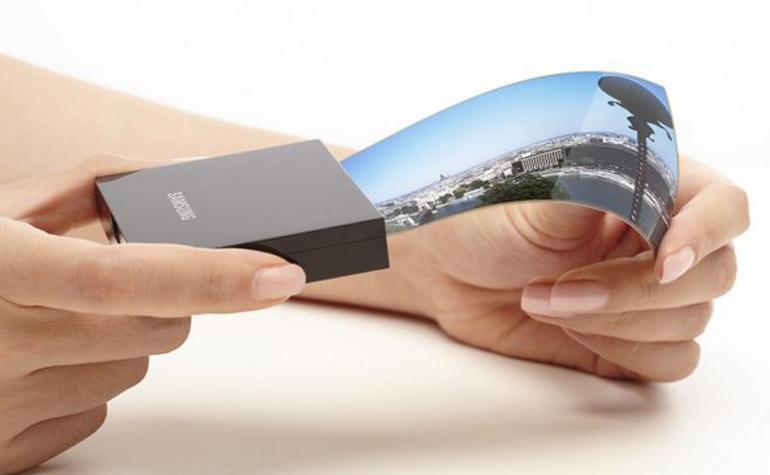 Samsung тоже анонсировала гибкие дисплеи для смартфонов