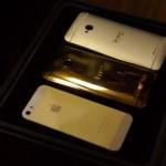 Gold HTC One оказался непрактичным (видео)