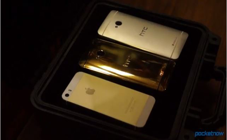 Gold HTC One оказался непрактичным