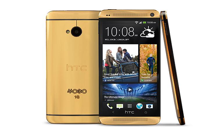 HTC выпустила свой золотой телефон