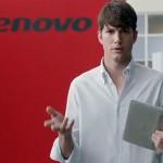 Эштон Катчер  работает на Lenovo