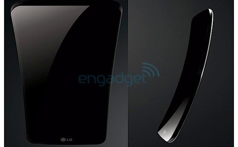 Изогнутый 6-дюймовый LG G Flex появится уже в ноябре