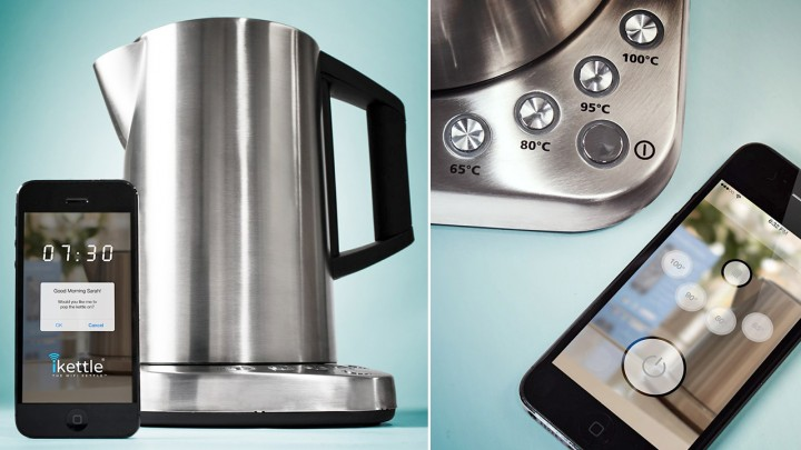 iKettle – мобильное приложение для чайников