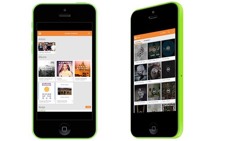 Google Music App For iOS