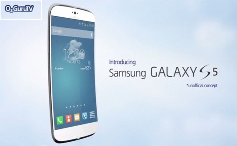Samsung Galaxy S5 сняли на видео