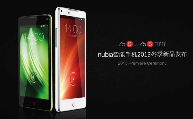 ZTE Nubia Z5S and Z5S mini