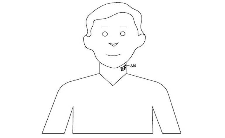 Motorola сделает микрофон-татуировку