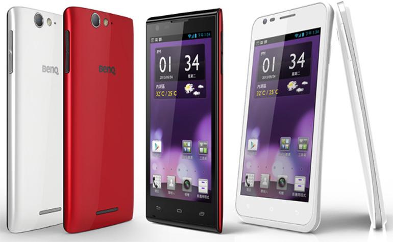 BenQ выпустит два новых смартфона