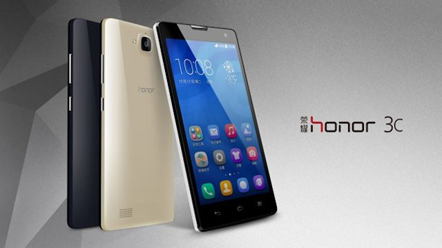 Huawei демонстрирует  Honor 3X и 3C