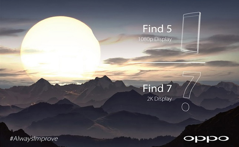Oppo раскрывает подробности Find 7