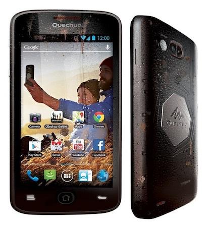Анонсирован Quechua Phone на Android