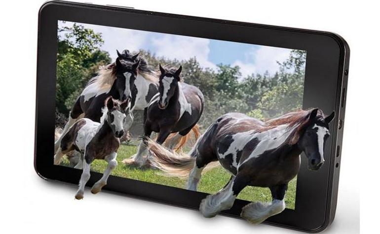 The No Glasses 3D Tablet – первый 3D-планшет