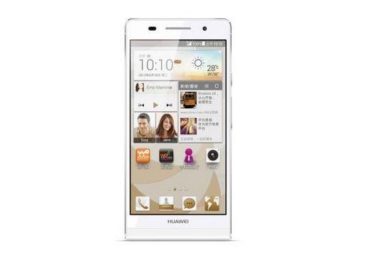 Huawei представила новинку Ascend P6 S