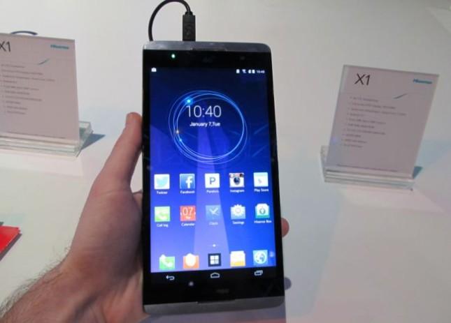 На выставке CES 2014 представлен Hisense X1 (видео)