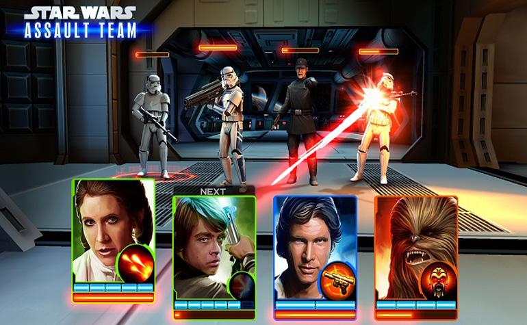 Запущена игра Star Wars: Assault Team для Android