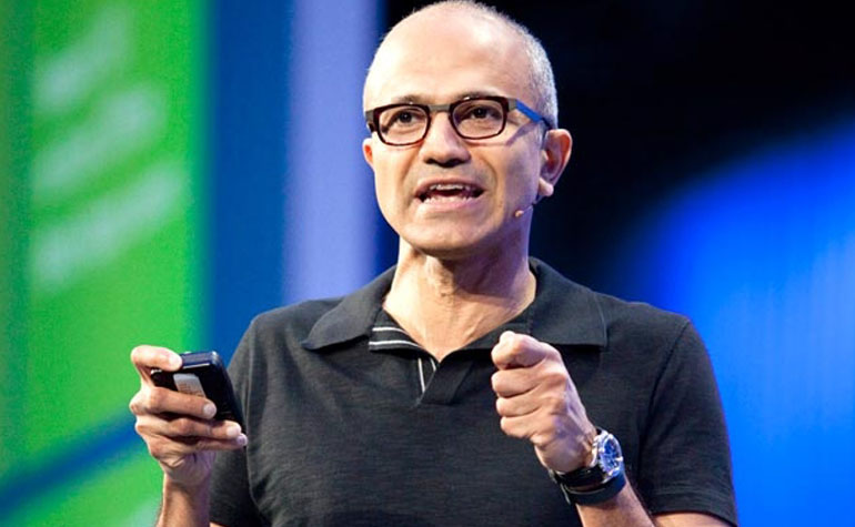 Satya Nadella new CEO