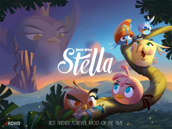 В сентябре выйдет Angry Birds Stella