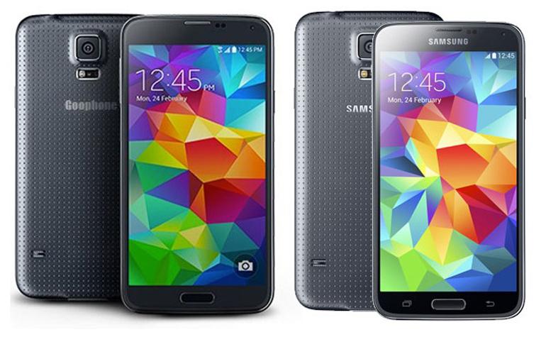 Китайцы создали копию Galaxy S5 – GooPhone S5