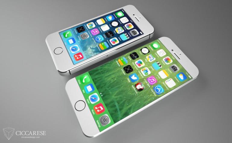 5,5-дюймовый iPhone 6 откладывается?