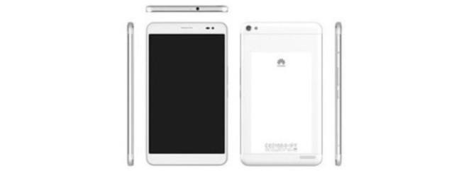 Утечка спецификаций планшета Huawei MediaPad X1