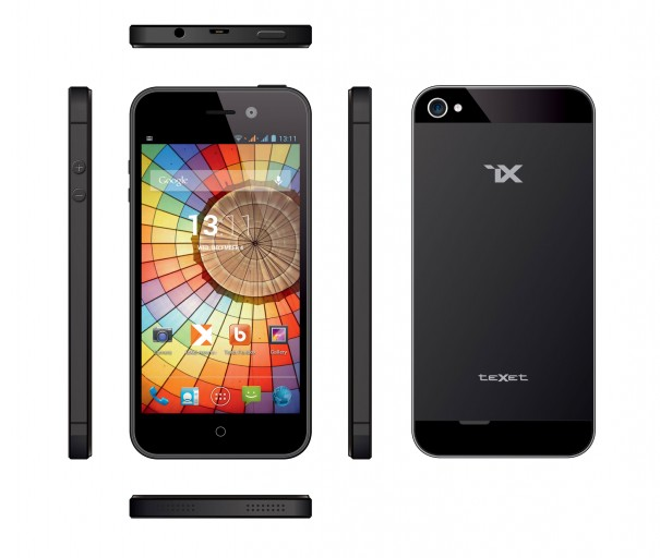 teXet выпустила новый смартфон teXet iX