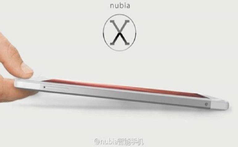 Смартфон с 13-пиксельной передней камерой ZTE Nubia X6 объявлен официально