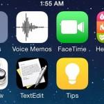 Появились первые скриншоты новой iOS 8