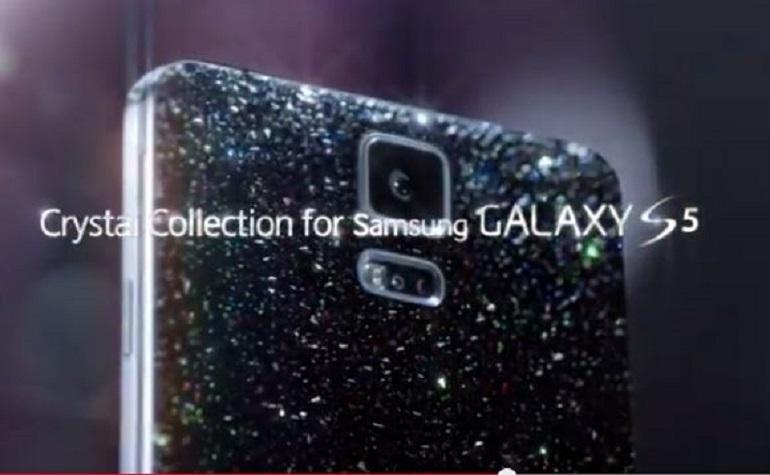 Samsung запустил на рынок Galaxy S5 с кристаллами Swarovski