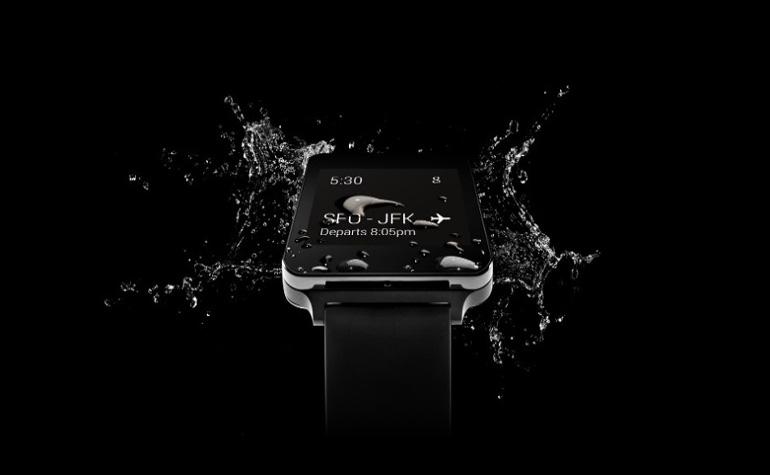 LG G Watch водостойкие и никогда не спят