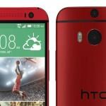 Утечка фото HTC One (М8) в красном цвете