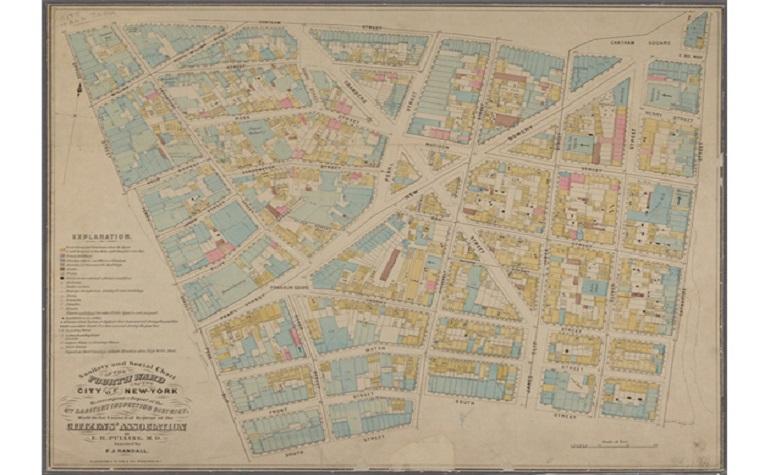 Опубликованы карты Нью-Йоркской библиотеки до 1660 года