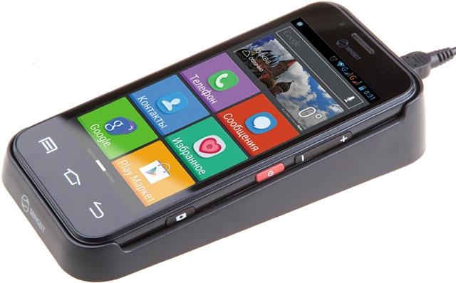 Senseit выпустила смартфон для детей и пожилых