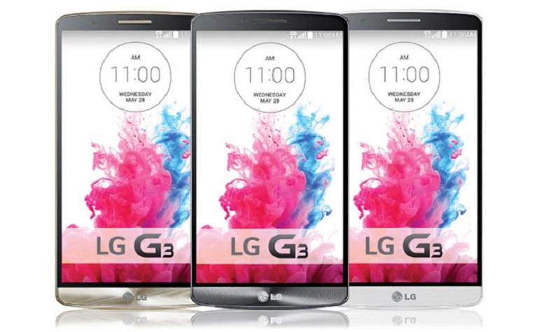 LG G3 официально рассекретили