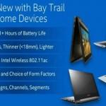 Выходит серия Chromebook на процессоре Bay Trail