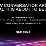 Samsung объявляет о мероприятии про здоровье
