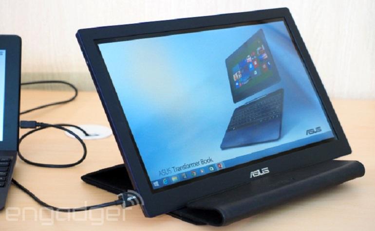 ASUS продемонстрировал USB-подключаемый монитор