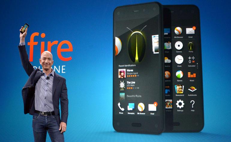 Amazon представила свой первый 3В смартфон