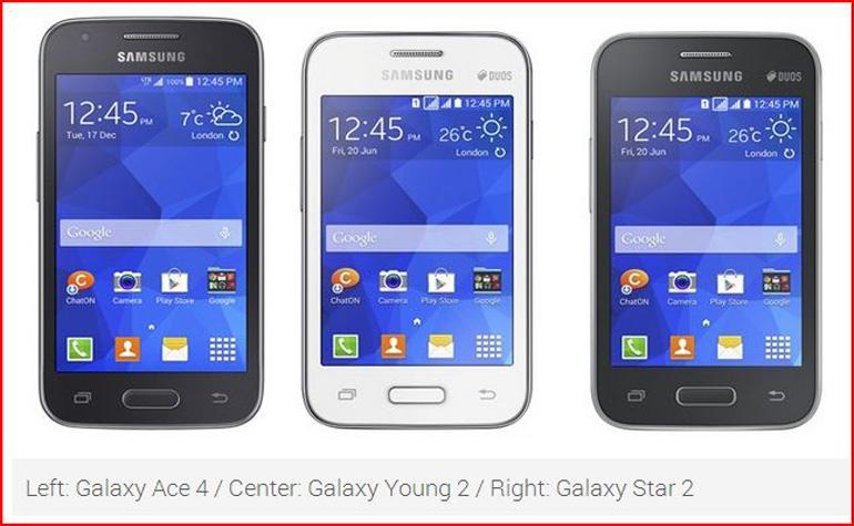 Samsung представила линейку бюджетных смартфонов Galaxy