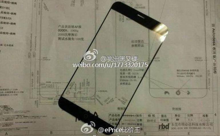 Meizu MX4 передняя панель