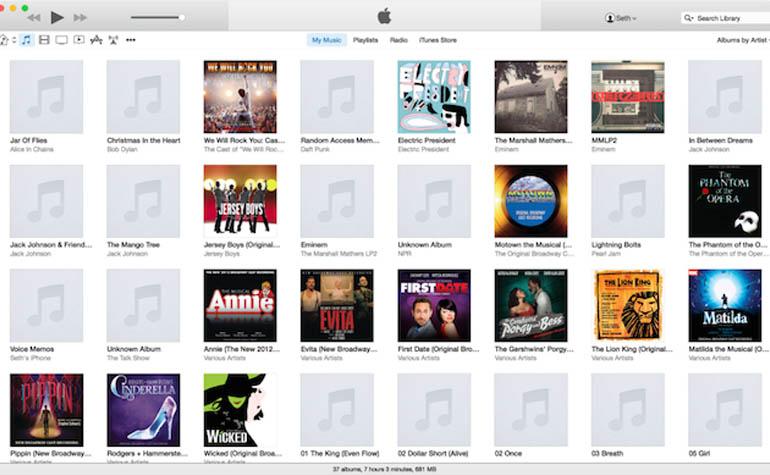 iTunes 12 beta