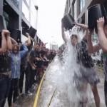 Google поддержал акцию Ice Bucket Challenge