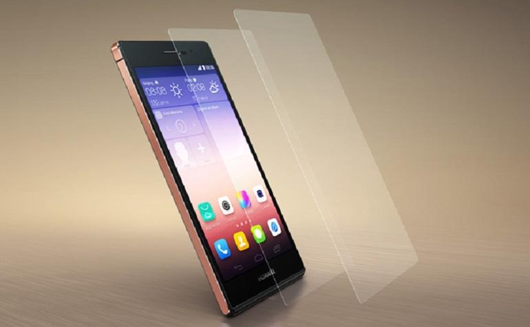 Huawei запускает Ascend P7 с сапфировым стеклом