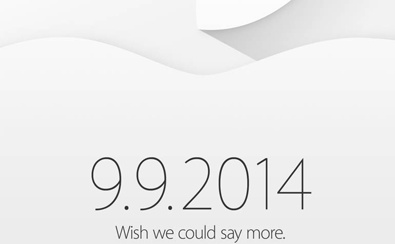 Анонс новинок от Apple состоится 9.09.2014