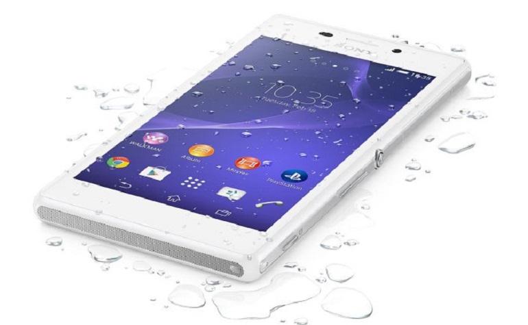 Sony запускает водонепроницаемый Xperia M2 Aqua